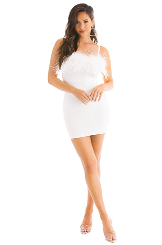 Hot Diva Dress - White