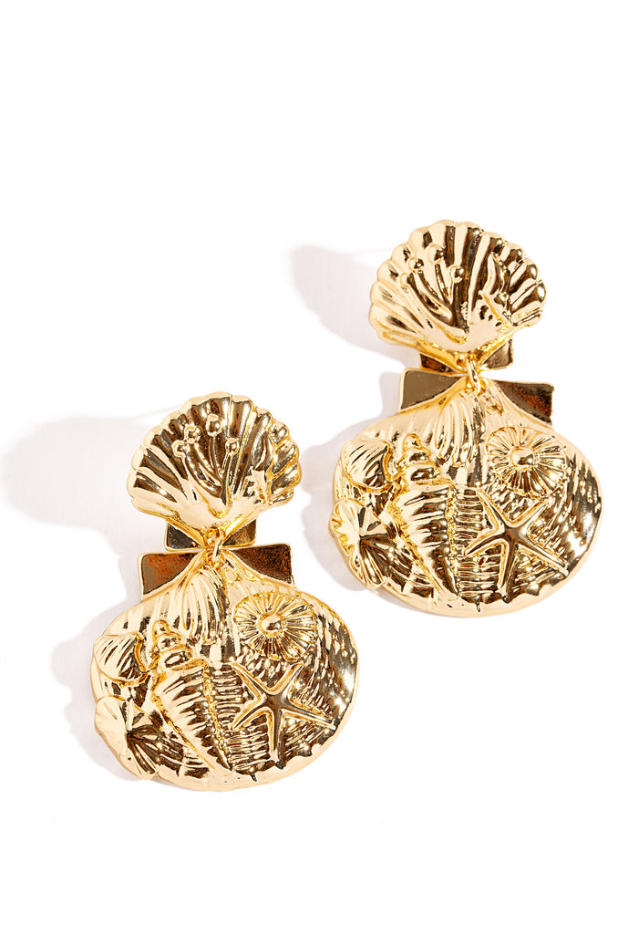 Kona Earrings - Gold