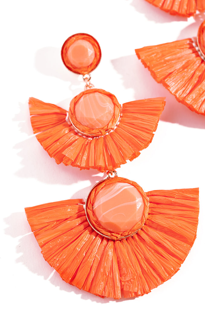 Zuma Earring - Orange