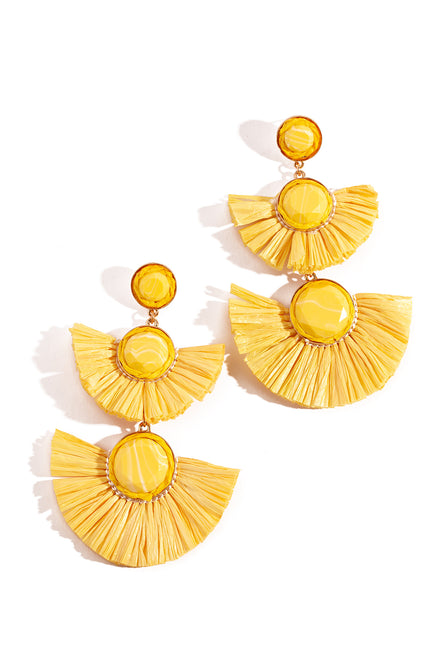 Zuma Earring - Yellow