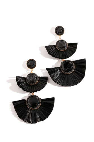Zuma Earring - Black