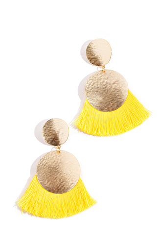 Zayna Earring - Yellow