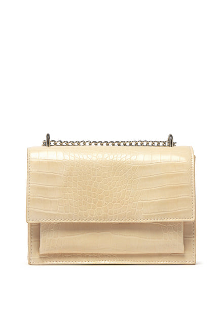 Fashion Icon Bag - Beige