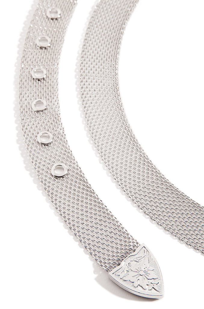 Fierce Frenzy Belt - Silver