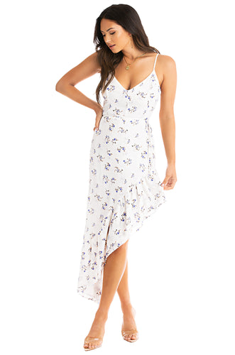 Soft Touch Dress - White Floral