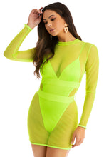 Body Electra Set - Neon Yellow