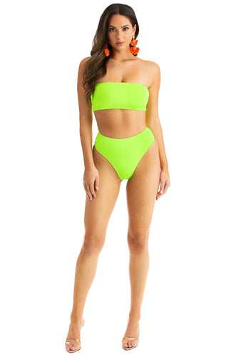 Private Island Bikini Set - Neon Lime