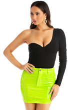 Vibe Out Skirt - Neon Lime