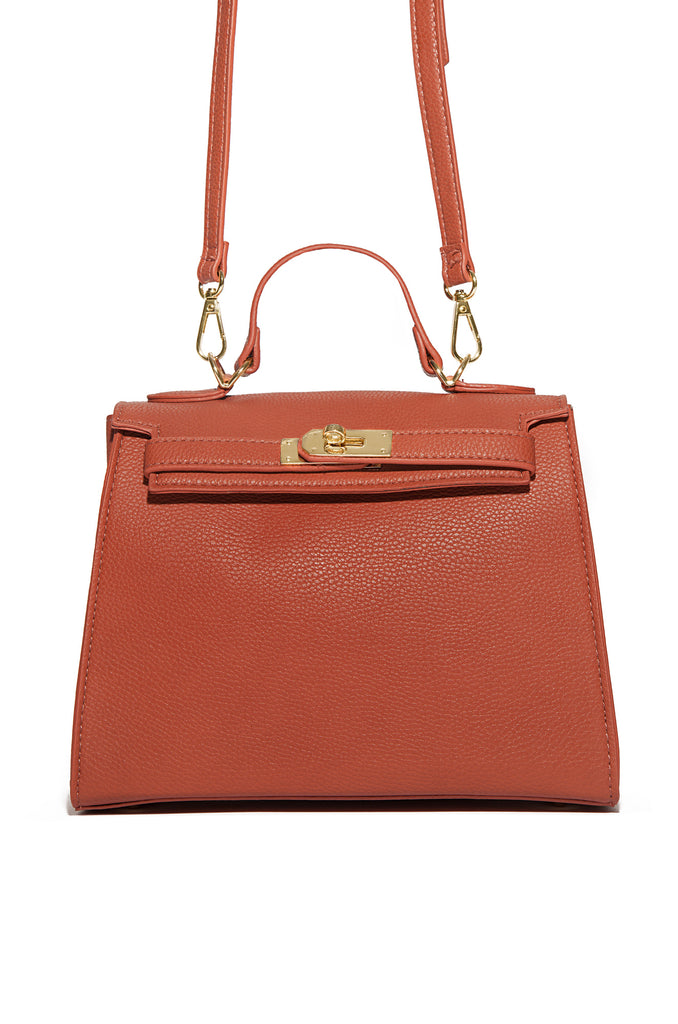 Chic Outing Bag - Rust