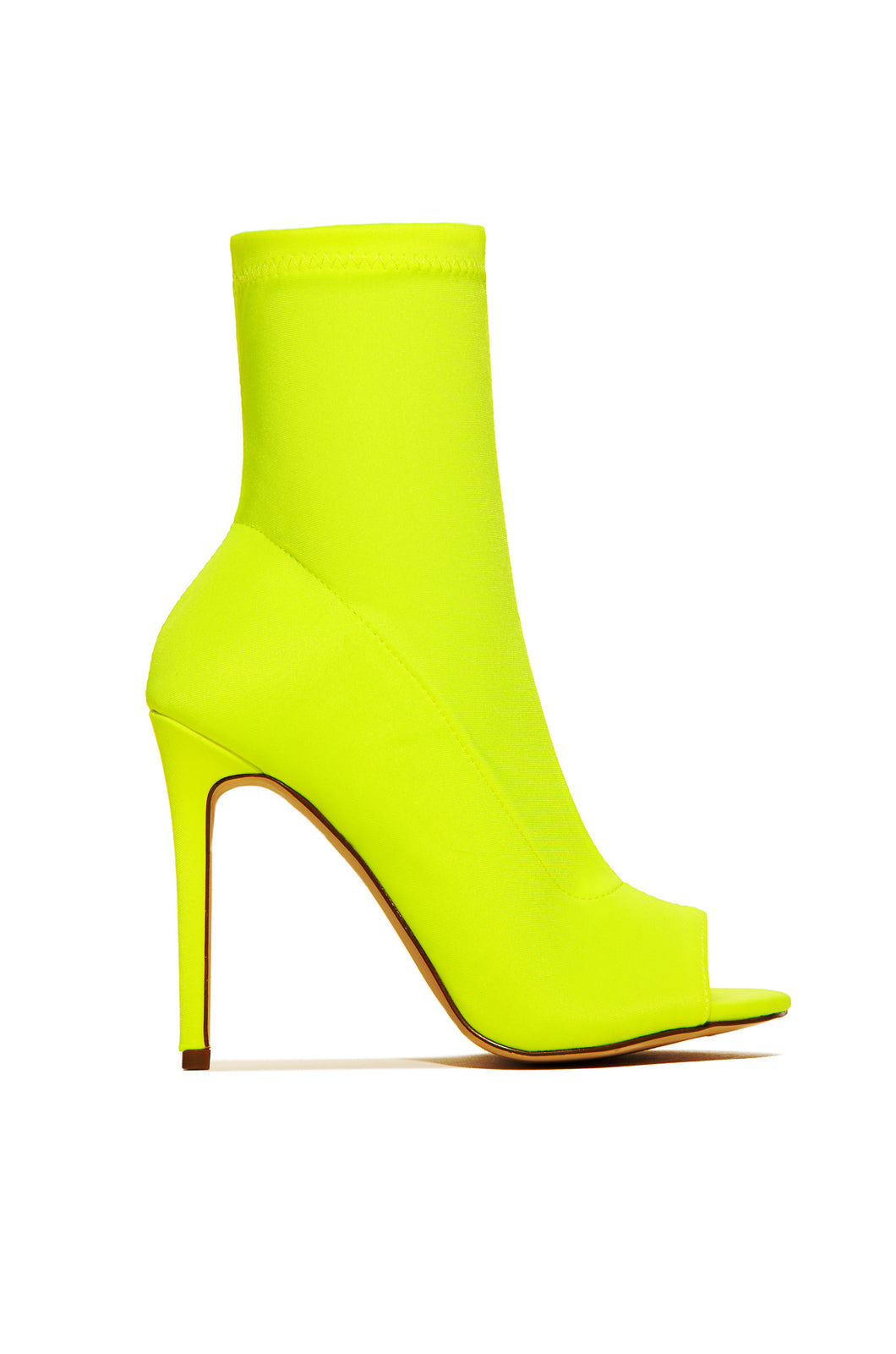 Move Over - Neon Yellow Lycra