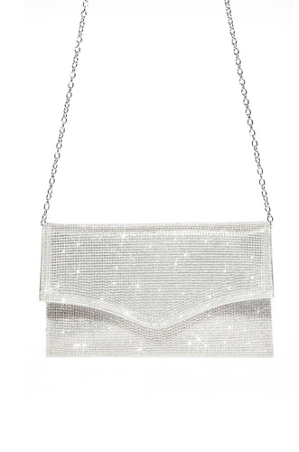 Good To Glow Clutch - Silver