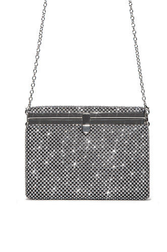 Love Suite Clutch - Silver