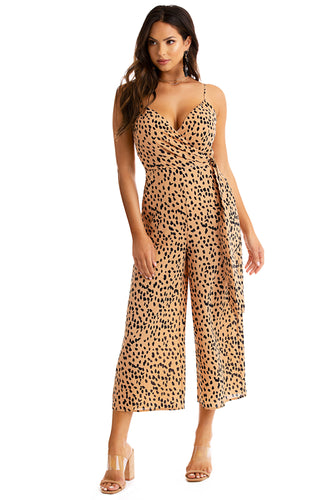 Just My Type Jumpsuit - Leopard