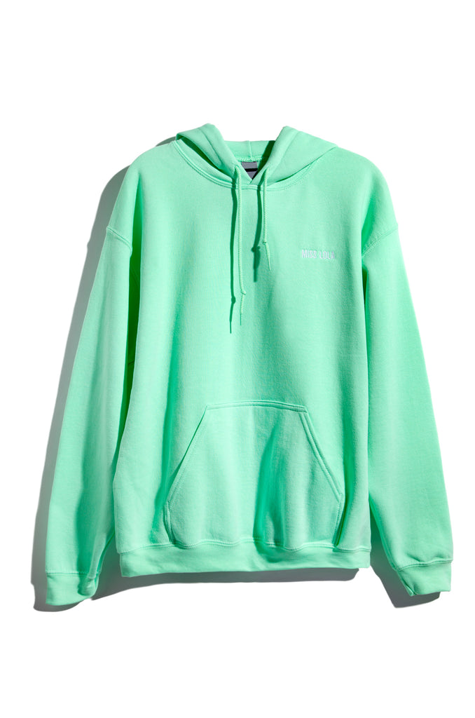 Dream It Then Real Life It Hoodie - Mint