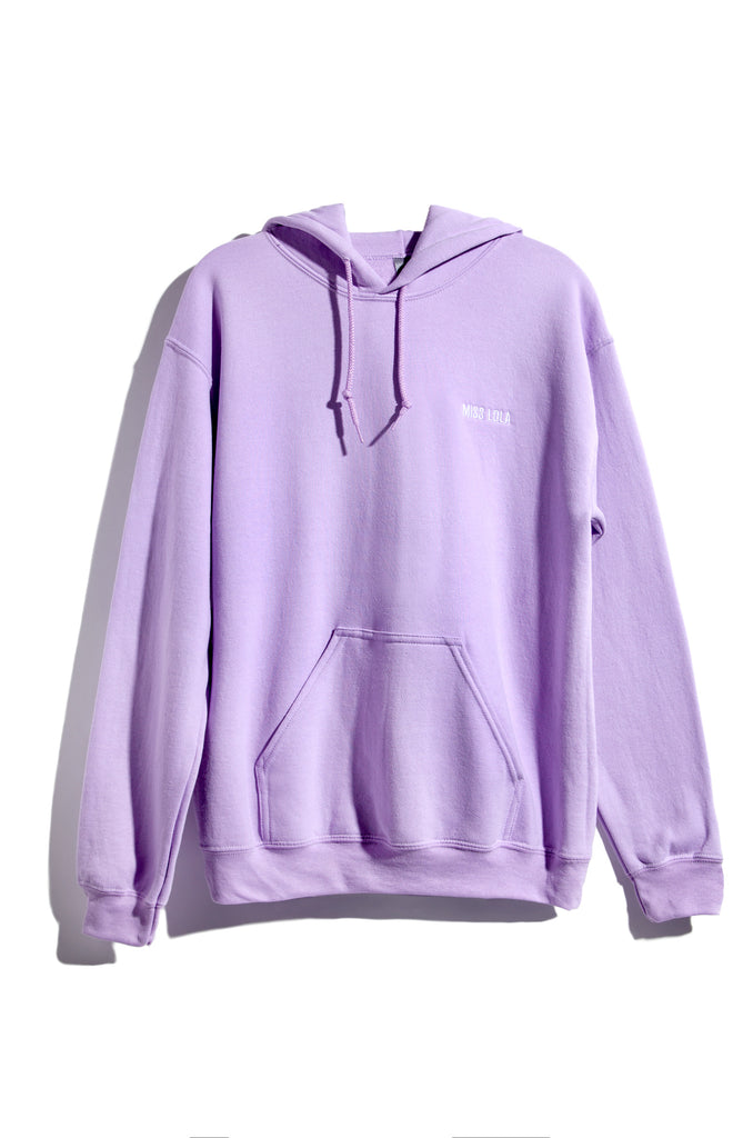 Dream It Then Real Life It Hoodie - Lilac