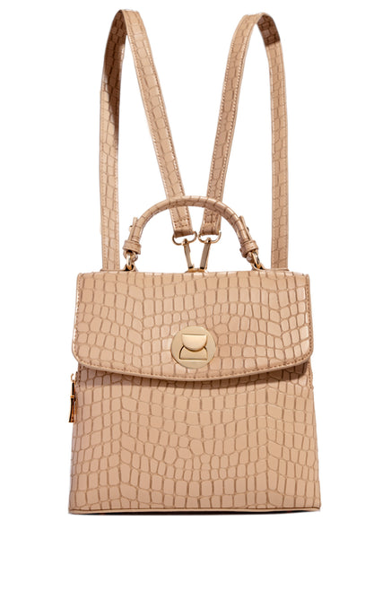 Beauty Game Backpack - Nude