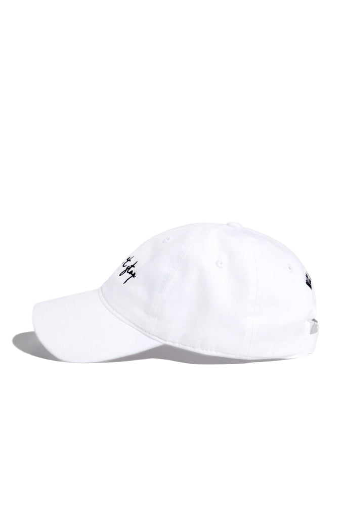 Can't Stop Won't Stop Hat - White