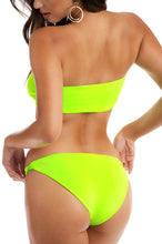 Hot Dive Bikini Set - Neon Lime