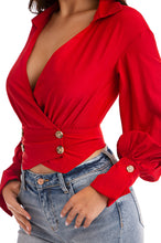 Main Obsession Top - Red