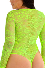 She's All That Bodysuit - Neon Lime