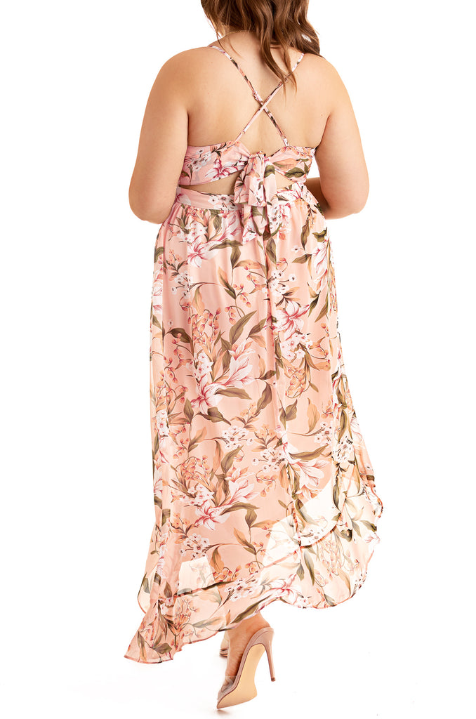 La Fleur Dress - Blush