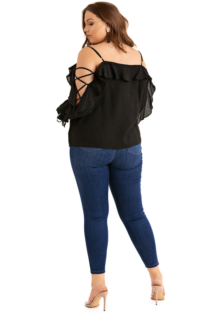 Love Connection Top - Black