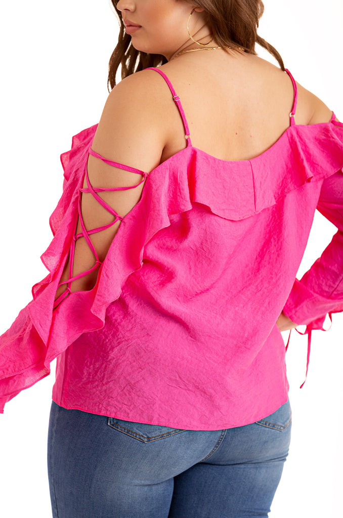 Love Connection Top - Hot Pink