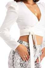 Opposites Attract Top - White