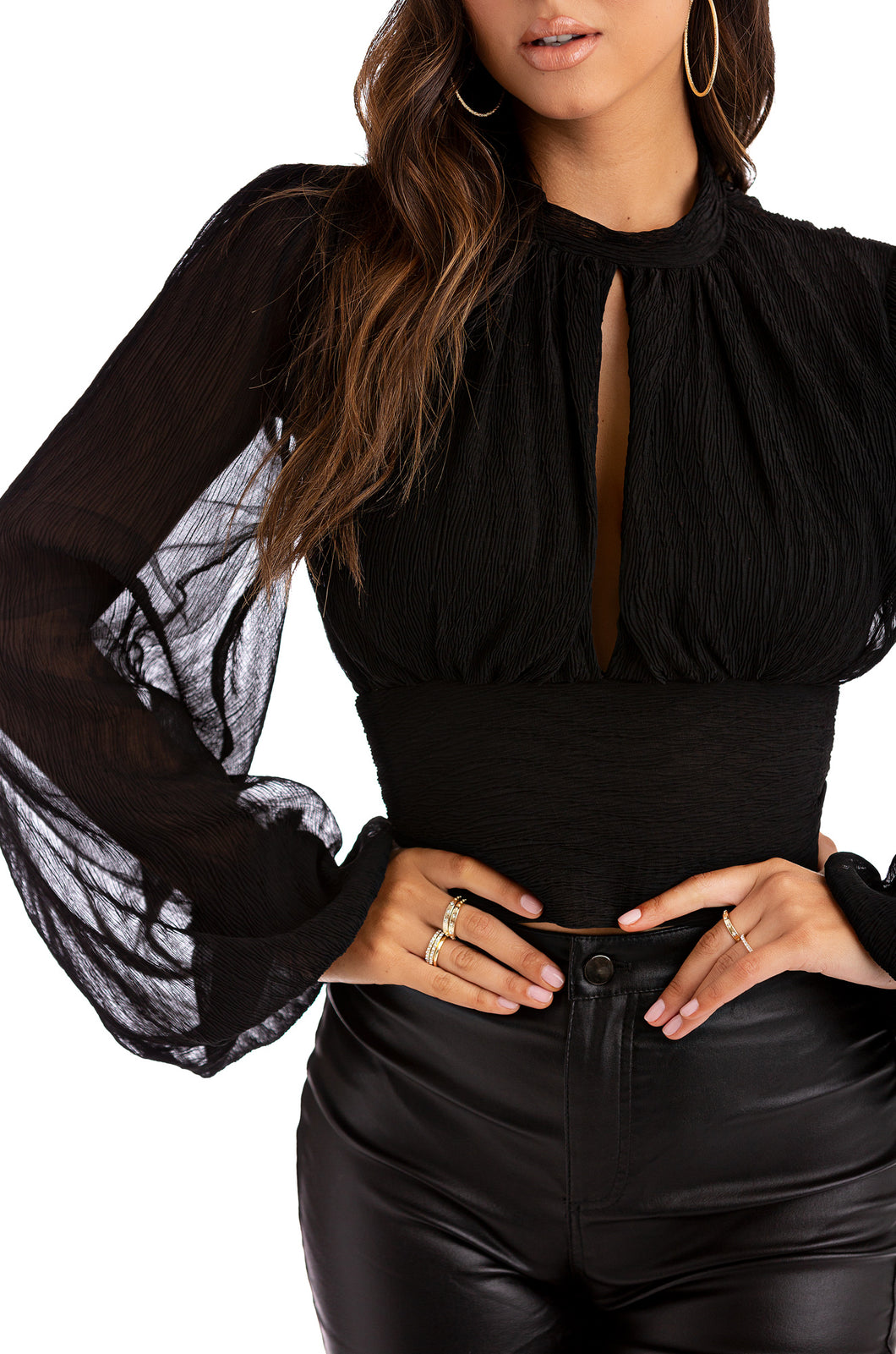 Law Of Attraction Top - Black