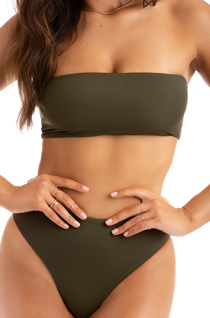 Private Island Bikini Set - Olive 8