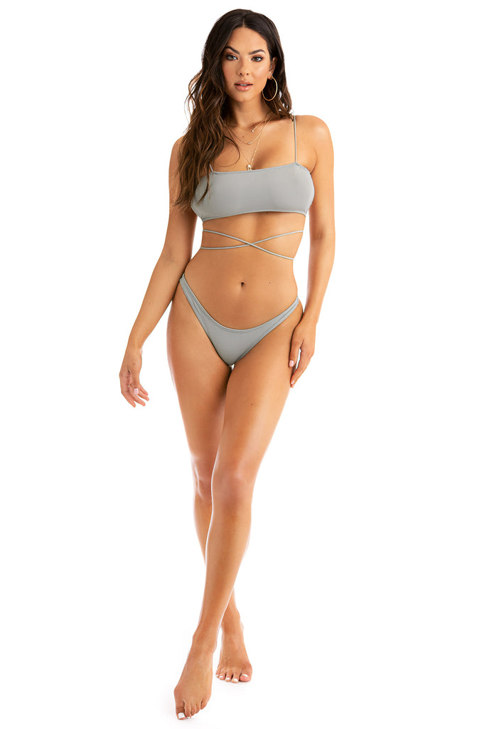Hot N Chic Bikini Set - Grey