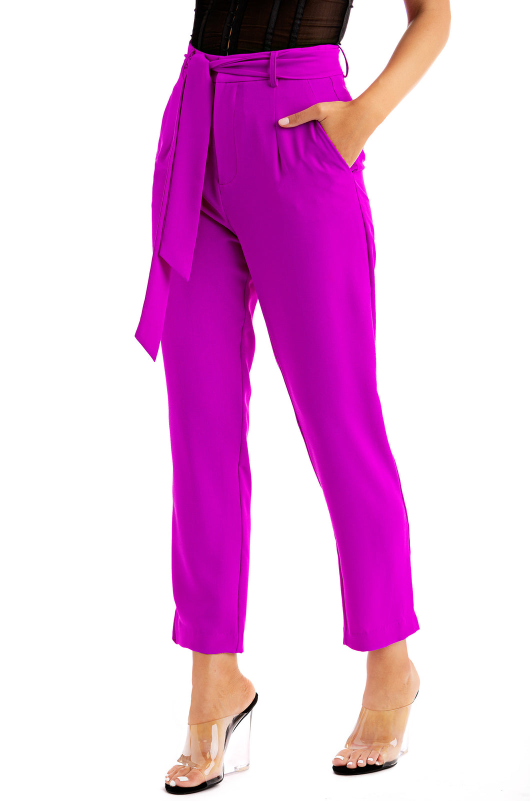 Above Average Pants - Purple