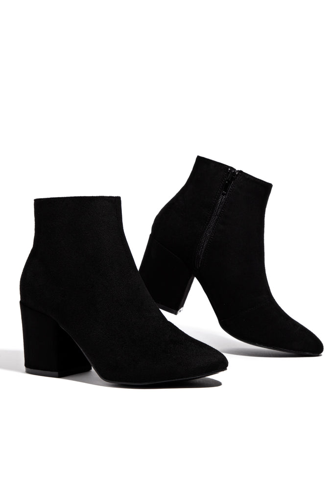 Basic Instincts - Black Suede