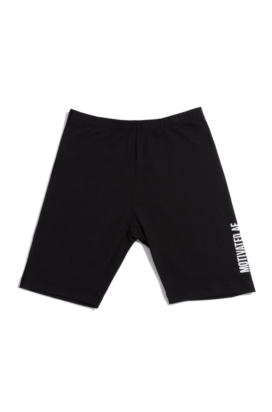 Motivated AF Biker Short - Black