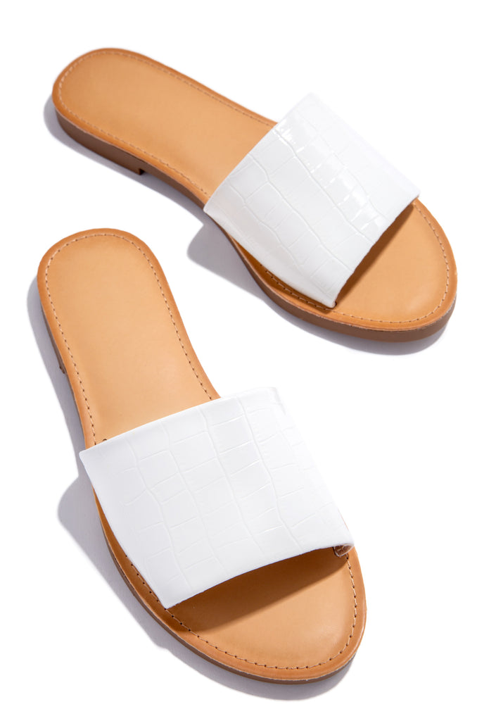 Cali Sunsets - White Croc                            Regular price     $21.99 13