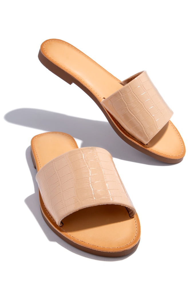 Cali Sunsets - Nude Croc                            Regular price     $21.99 12