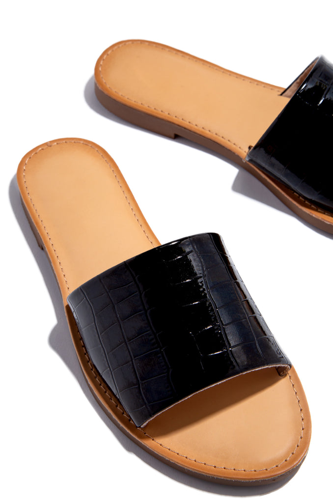 Cali Sunsets - Black Croc                            Regular price     $21.99 12