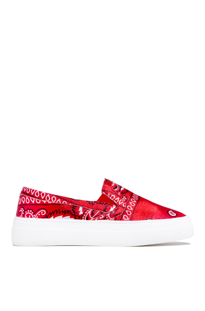 First Place - Red Paisley