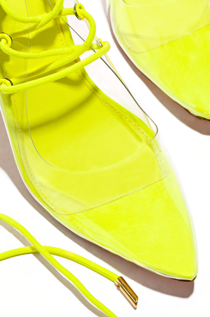 So Official - Neon Yellow