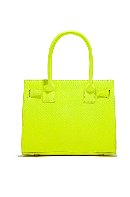 Best Dressed Bag - Neon Yellow