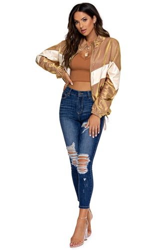 Stassie Jacket - Gold