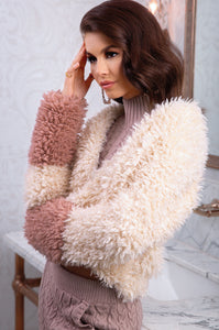 Candied Maven Coat - Ivory