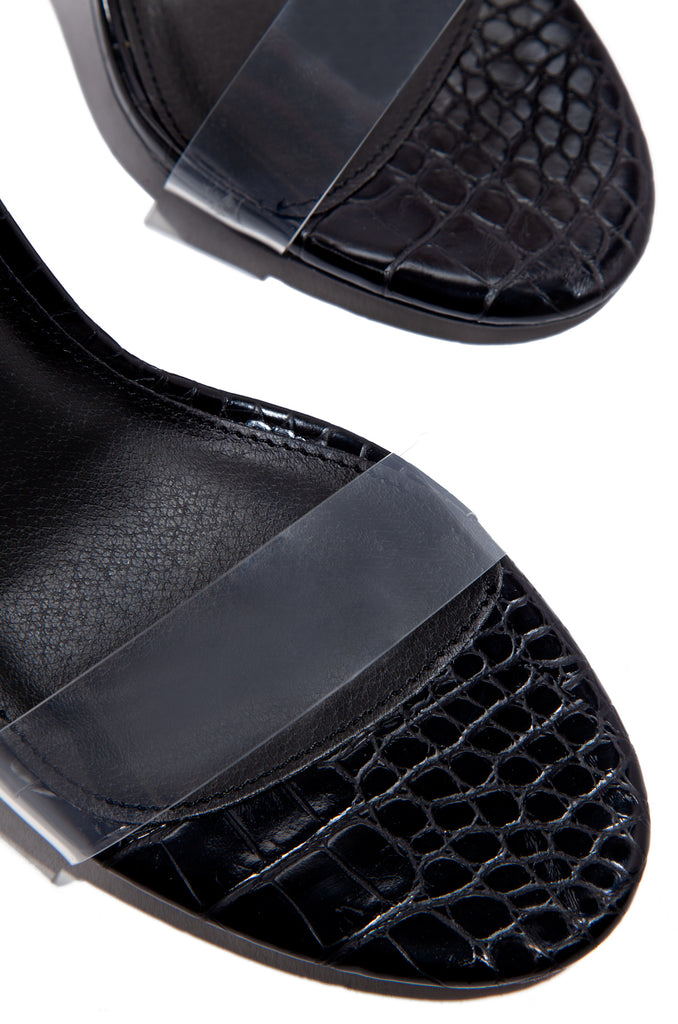 IG Approved - Black Croc