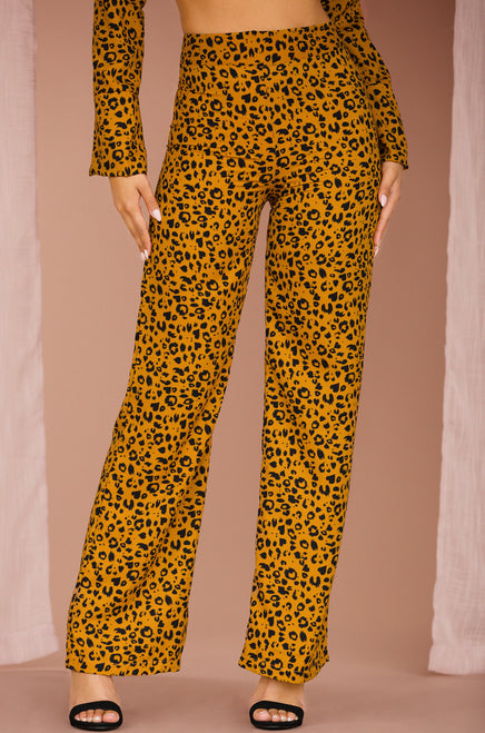 Rule The World Pant - Leopard
