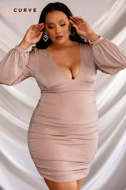 Birthday Behavior Dress - Blush