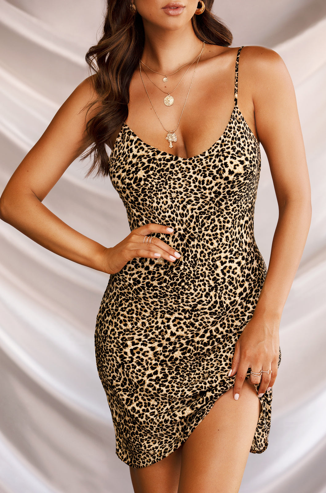 Seduced Dress - Leopard