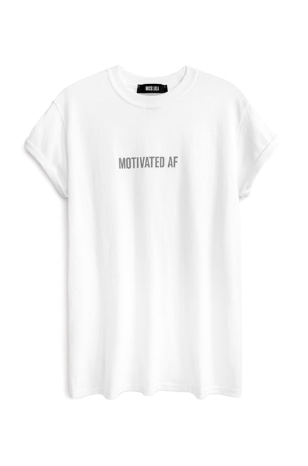 Motivated AF Tee - Grey