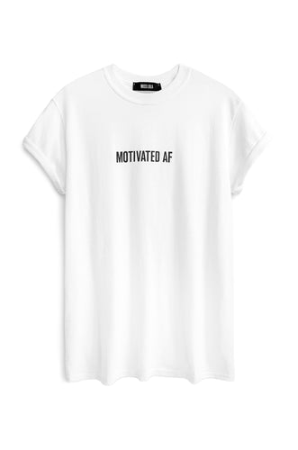 Motivated AF Tee - Black