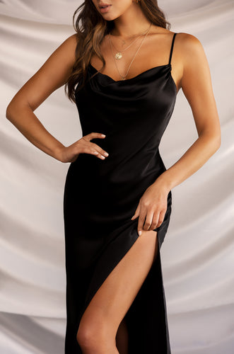 Night Romance Dress - Black