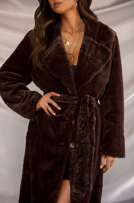 Luxe Lover Coat - Mocha